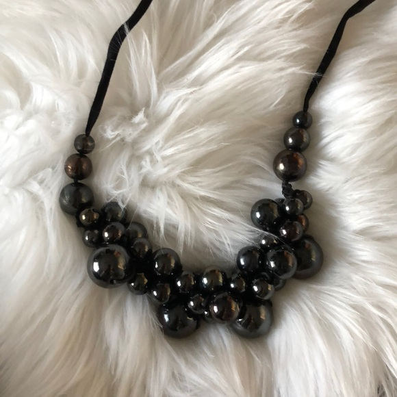 Unbranded Jewelry - Hematite Bubble Necklace
